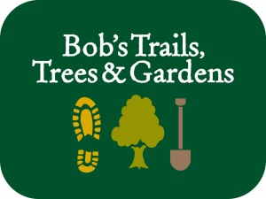 Bobs Trails Logo_Reverse on Green