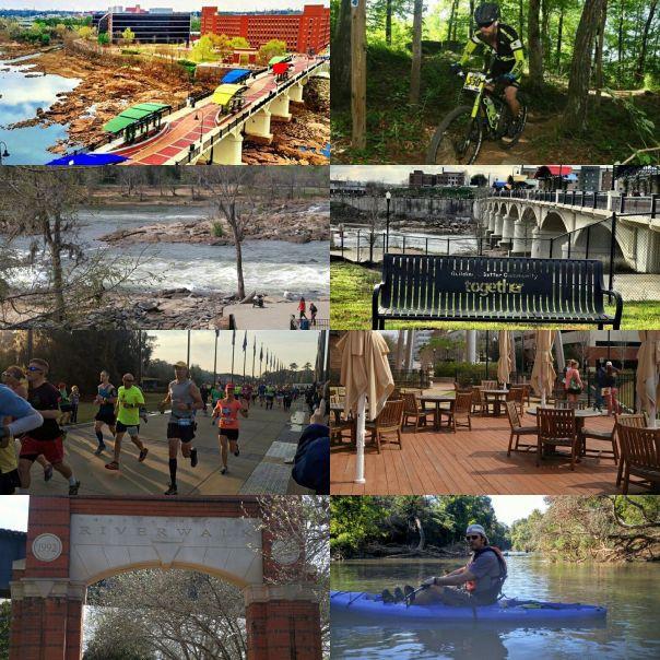Columbus trails collage